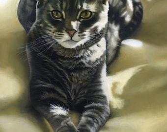 Custom Pet Portrait - oil 18x24