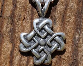 Celtic  Love Knot Pendant, Celtic Jewelry
