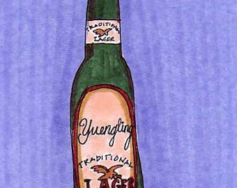 Yuengling-5x7 inch Print from Original Illustration