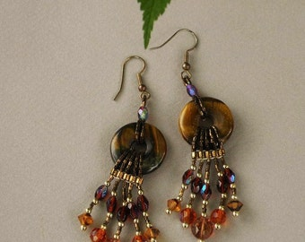 Tigereye Earrings