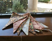 Fabric Bunting Banner, Flags, Party Pennants, Reusable Decorations by InYourBones