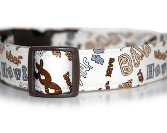 Bark and Howl,,,, Custom Dog Collar