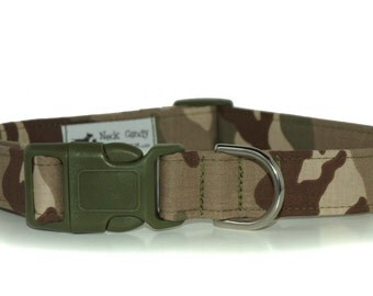 Lt. Dan,,,,Custom Camoflage Dog Collar from Neck Candy Collars