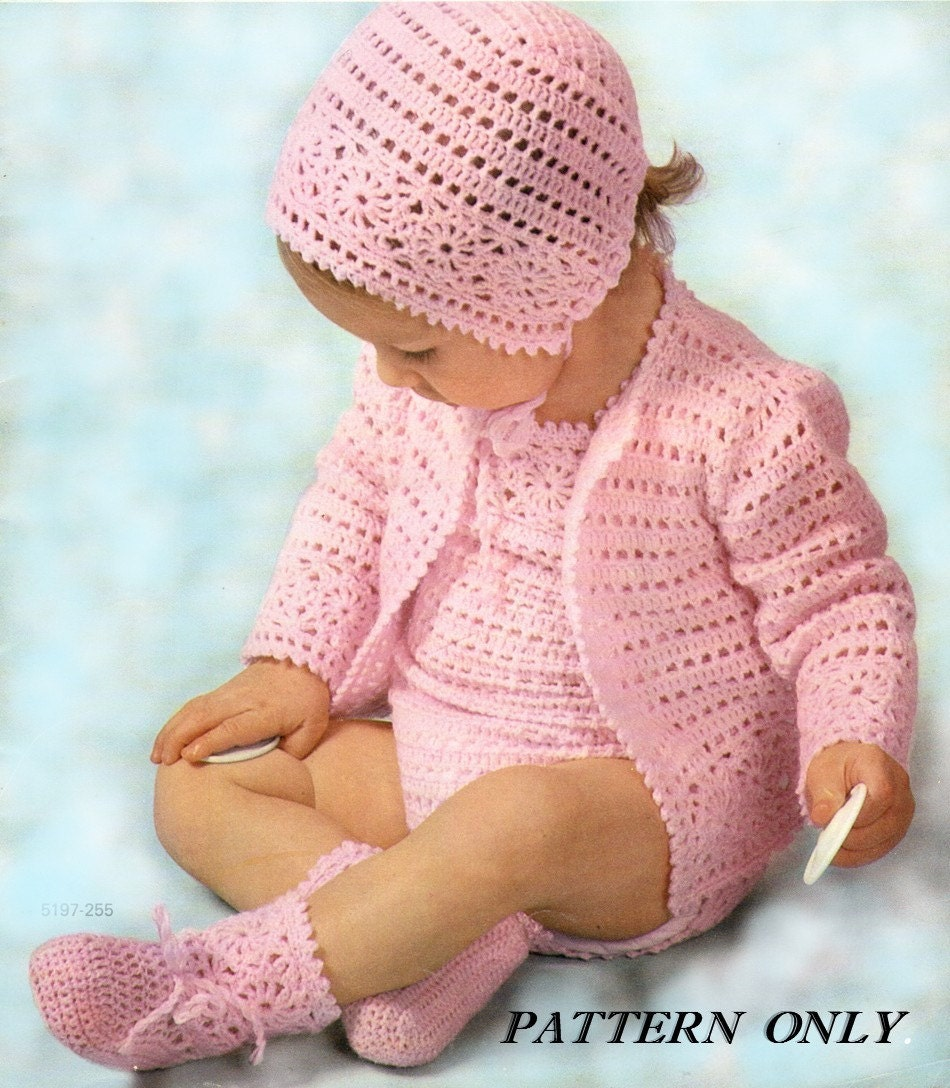 Instant download crochet pattern Baby rompers sweater