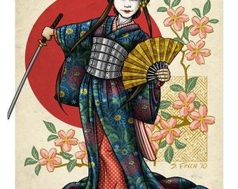Geisha Samurai by GDG's Shannon Finch