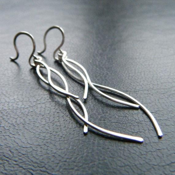 Branch Earrings - Twig Earrings, Long Earrings, Dangle Earrings