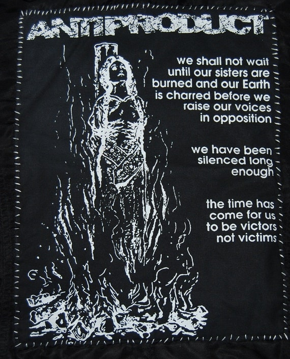 ANTIPRODUCT ~ backpatch and free patch (30 different designs available)