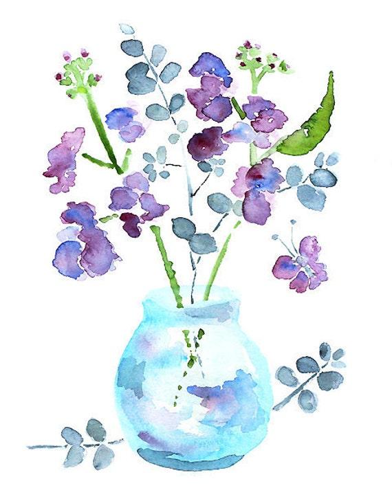 Like this item. watercolor flower bathroom art bathroom wall decor
