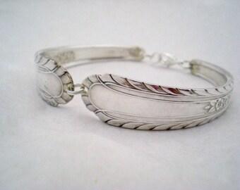 Spoon Bracelet Vintage Silverware Jewelry Silver Bracelet - WENTWORTH 1938