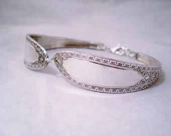 Vintage Jewelry, FREE ENGRAVING Silverware Spoon Bracelet, Vintage Silverware Jewelry, Vintage Wedding, Bridesmaid Jewelry RAMONA 1928