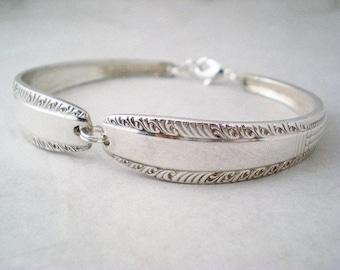 Spoon Bracelet, FREE ENGRAVING, Vintage Spoon Jewelry, Bridesmaid Bracelet, Wedding Jewelry, Personalized Bracelet, Bridal SHARON 1926