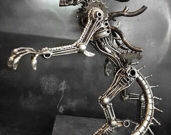 Steampunk - The Metal Standing Monster (Medium item)