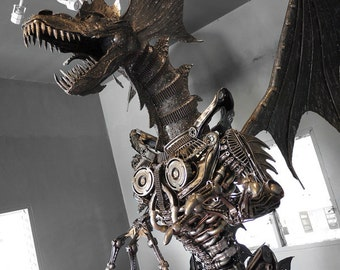 Steampunk - The Metal Giant Dragon (made-to-order)