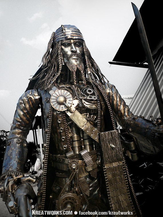 Steampunk Pirate (made-to-order)