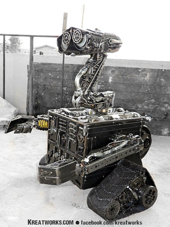Junk Collector  Robot (made-to-order)