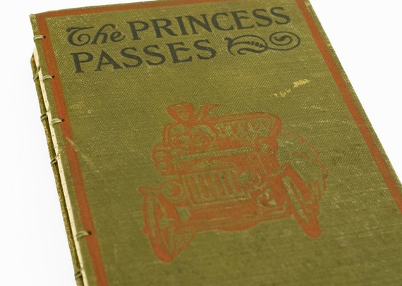 1905 PRINCESS PASSES Antique Lined Journal Notebook