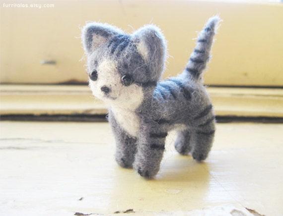 Mio- Needle Felted Kitten