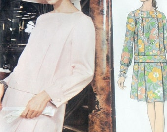 Vintage Vogue Paris Original NINA RICCI  Pattern 2191