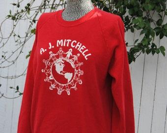 Vintage 1980's School Sweatshirt
