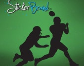 Vinyl Wall Decal Sticker Football Players item 560