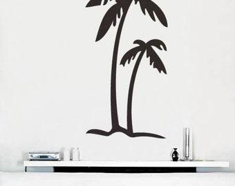 Vinyl Wall Art Decal Sticker Palm Tree Decoration item 133A