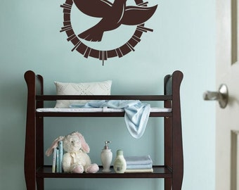 Vinyl Wall Decal Sticker Peace Dove 253