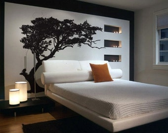 Vinyl Wall Decal Sticker TREE Shade Design BIG 6ft Tall item 312A