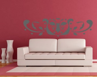 Vinyl Wall Decal Sticker Leaf Design AFord106