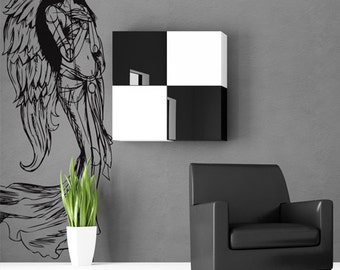 Vinyl Wall Decal Sticker Beautiful Angel Wings 774s