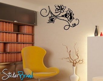 Vinyl Wall Decal Sticker Flower Floral Blossom 797s