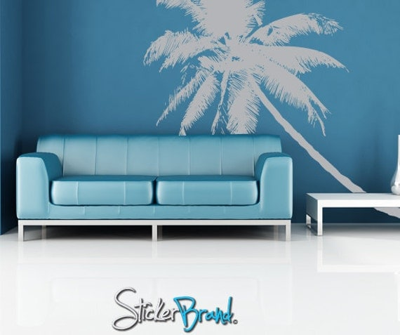 Vinyl Wall Decal Sticker Tropical Palm Tree Item781b