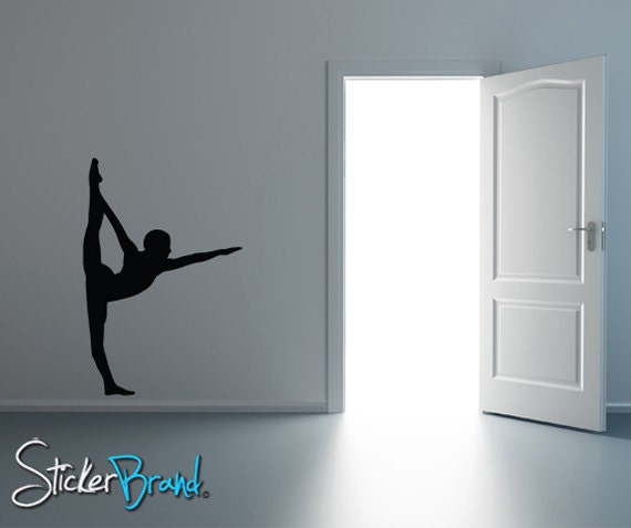 Vinyl Wall Decal Sticker Gymnastics Stretch 811A