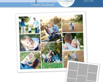10 x 12 Storyboard for Photographers - Photoshop Template