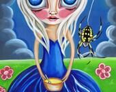 """ART PRINT """"Little Miss Muffet"""" by Jaz Higgins"""