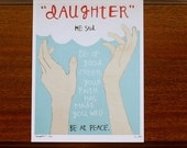 DAUGHTER 8x10 limited edition giclee print: healing, encouragement