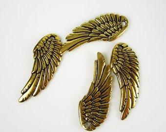 4 Gold Tierracast  Wings
