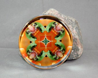 Frog Paperweight Unique Mandala Boho Chic New Age Lover Sacred Geometry Hippie Kaleidoscope Unique Boss Gift Teacher Gift Fortunate Finnegan