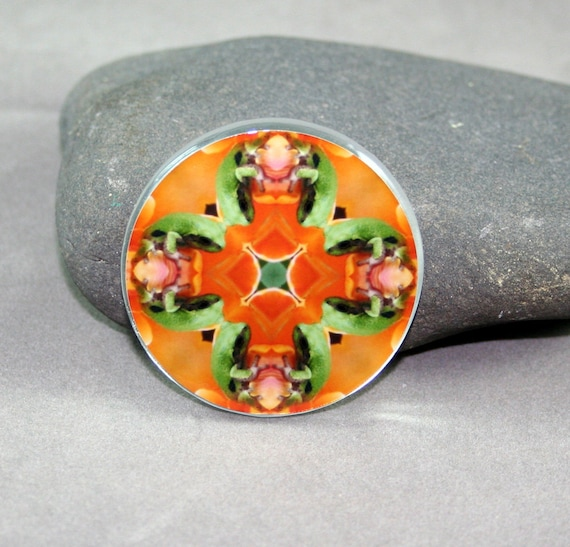 Frog Magnet Boho Chic Mandala New Age Sacred Geometry Hippie Kaleidoscope Fortunate Finnegan