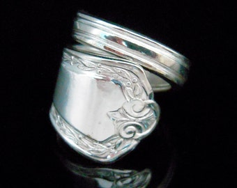Silver Spoon Ring - Hampden