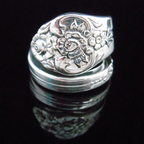 Fork and Spoon Jewelry Spoon Ring - Plantation