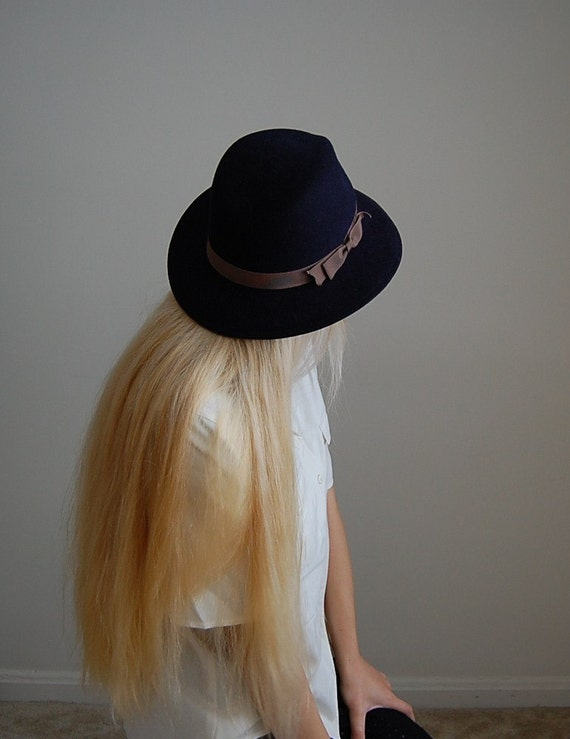1970s Lord and Taylor wool fedora