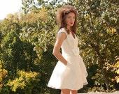 Short Retro Wedding Dress - Summer Holiday