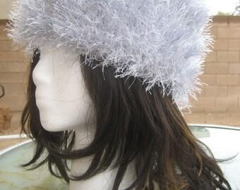 Crochet Faux Fur Hat - Beautiful, Warm, Soft & Comfy