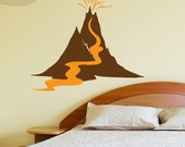 Volcano - Wall Decal