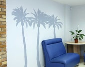 Palm Trees - Set of 3 Vinyl Wall Decals
