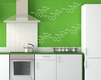 Party Molecules - Small - Vinyl Wall Decals