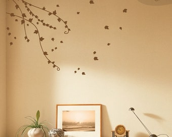 Climbing Ivy Vines - Vinyl Wall Decal
