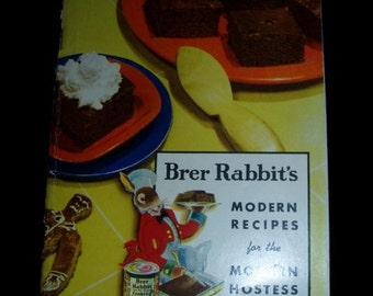 40s Cookbook Brer Rabbit Molasses Modern Recipe Book
