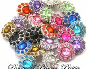 10-Mini 13mm Solid Anna Buttons-You Choose Colors (Check Stock List Below)