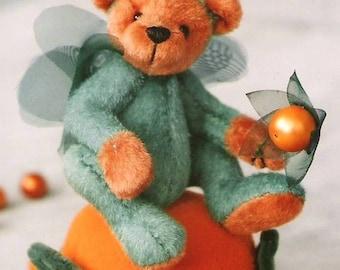 Miniature Teddy Bear PDF Sewing Pattern - Harvey